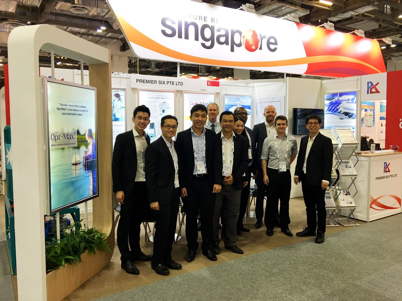 Opt-Max® wraps up successful event at Sea Asia 2017 in